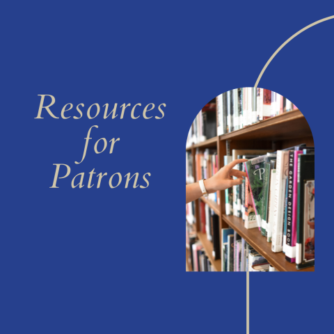 Resources for Patrons square