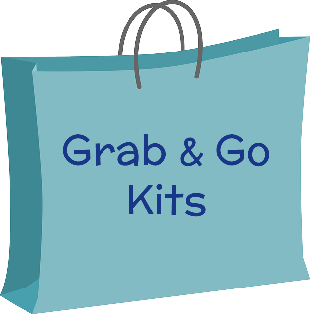 Grab & Go Kits Bag logo