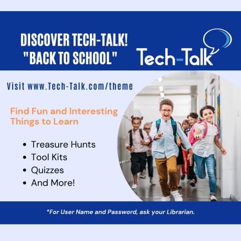 Tech-Talk Back To School